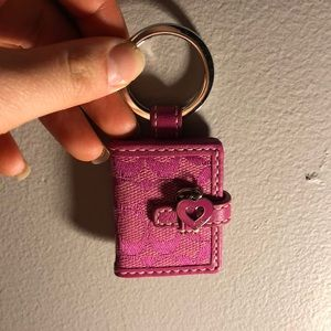 Authentic Coach Keychain